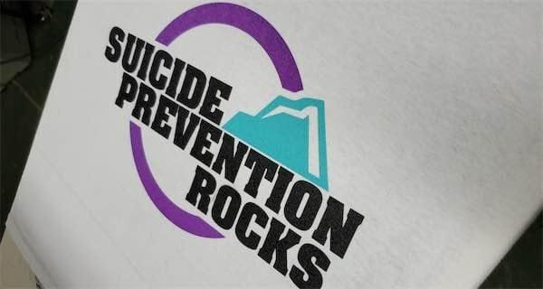 Suicide Prevention Rocks T-Shirt